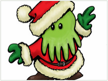 Cthulhu Christmas Cards
