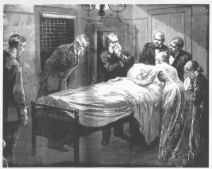 Death_bed_of_President_James_A._Garfield_-_From_Harper's_Weekly_-_NCP_001861