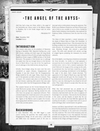 The Angel of the Abyss, appearing in Europe Ablaze for World War Cthulhu is now a free download from the Cubicle 7 website!
