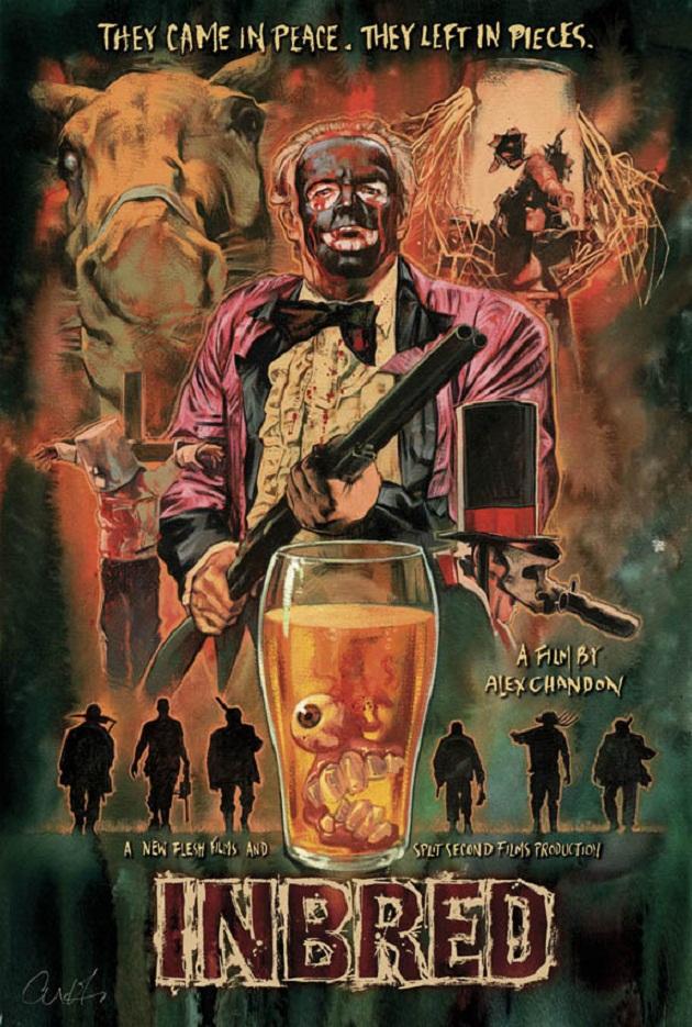 October Horror Movie Challenge 2014 Day 18 Inbred