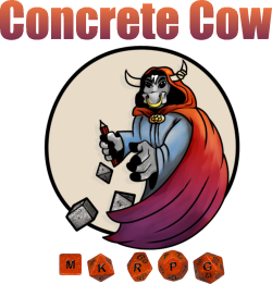 Concrete Cow logo