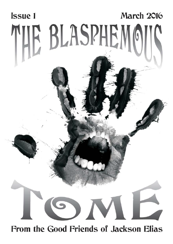The Blasphemous Tome issue 1 cover