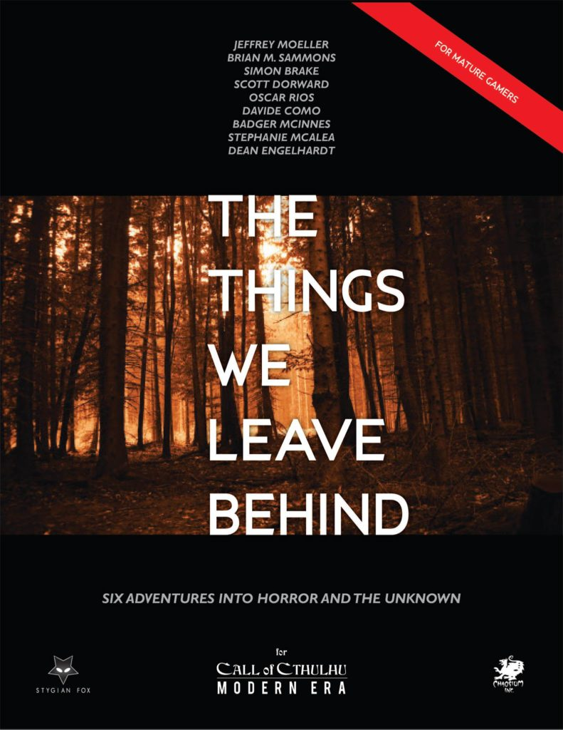 The Things We Leave Behind cover
