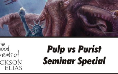 Special episode – Necronomicon 2017 panel on pulp versus pure panel