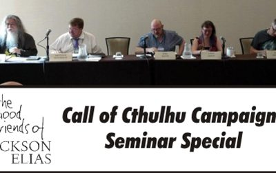 Special episode – Necronomicon 2017 panel on Call of Cthulhu campaigns