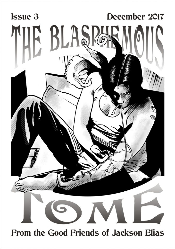 The Blasphemous Tome issue 3 cover