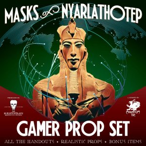 Masks of Nyarlathotep Gamer Prop Set