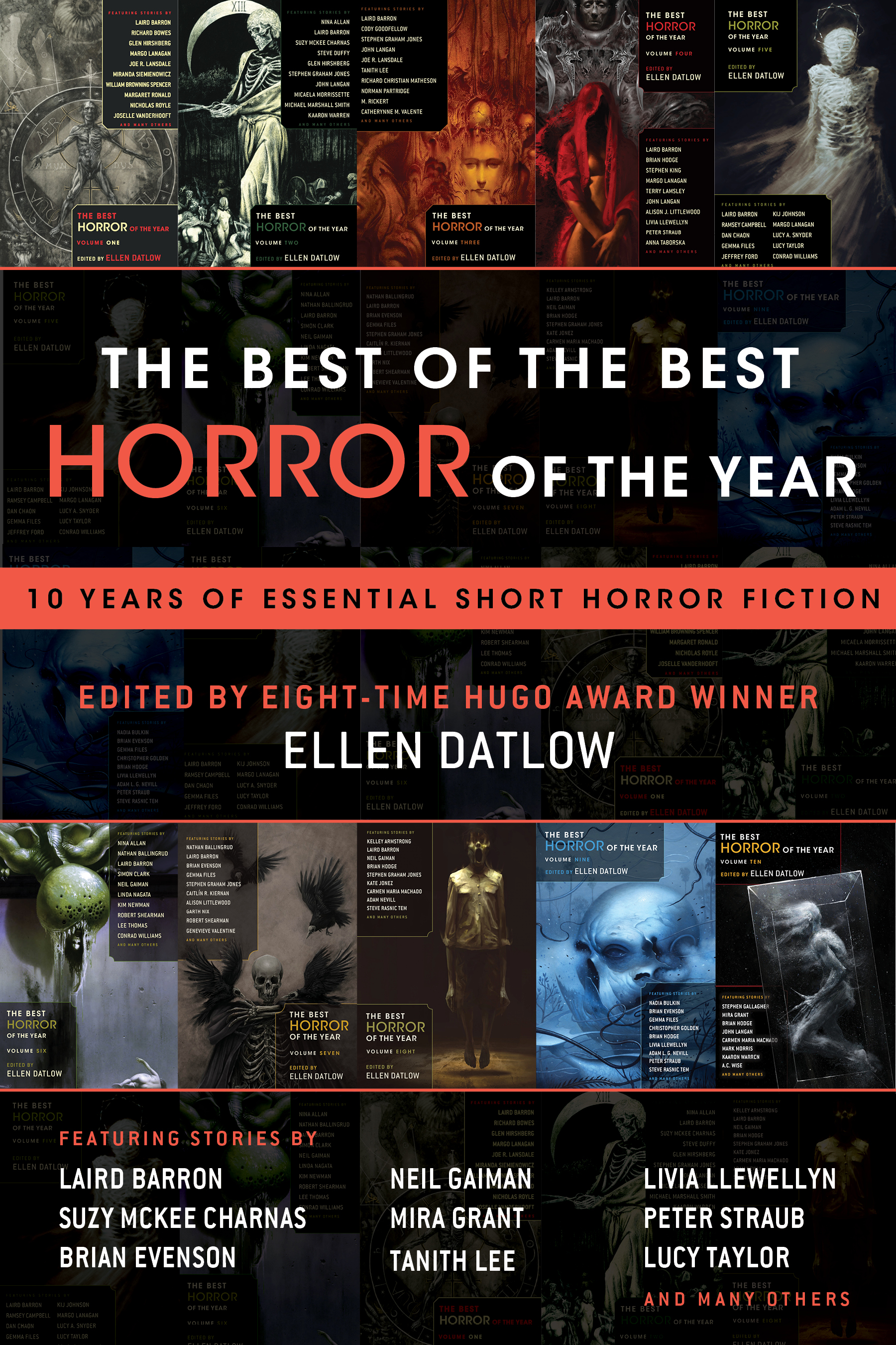 The Best of the Best Horror of the Year cover