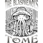 The Blasphemous Tome issue 4 cover