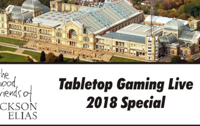 Special Episode – Tabletop Gaming Live 2018