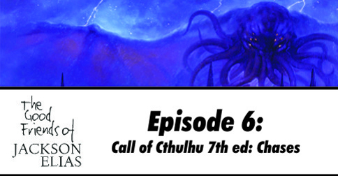 Foot Chases in Call of Cthulhu