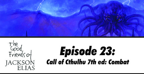 Combat in Call of Cthulhu 7th Edition