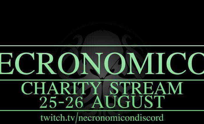 Livestream event with Necronomicon Discord - Blasphemous Tomes