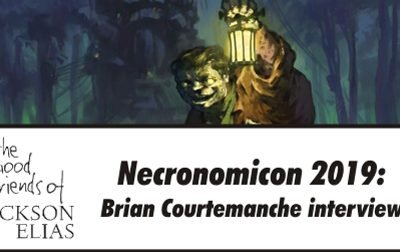 Special: Brian Courtemanche interview at Necronomicon 2019