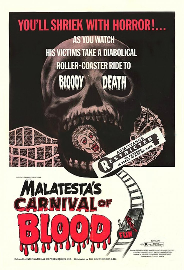 Malatesta's Carnival of Blood film poster
