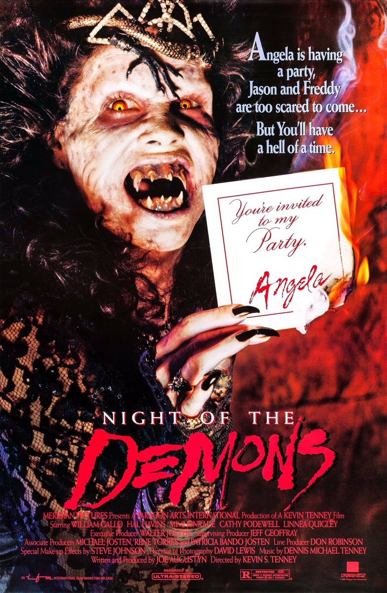 Night of the Demons film poster