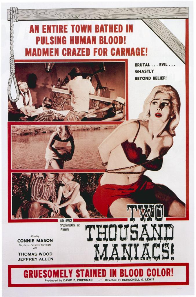 Two Thousand Maniacs! film poster