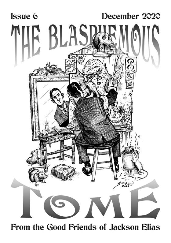 The Blasphemous Tome issue 6 cover