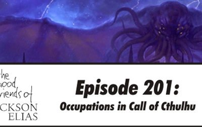 Occupations in Call of Cthulhu