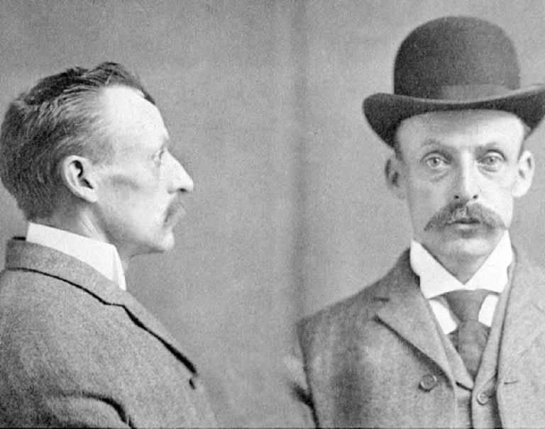 Albert Fish's 1903 mugshot
