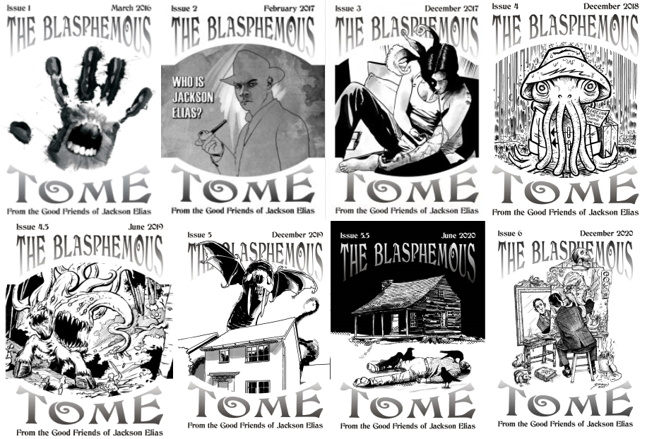 The Blasphemous Tome issues 1-6