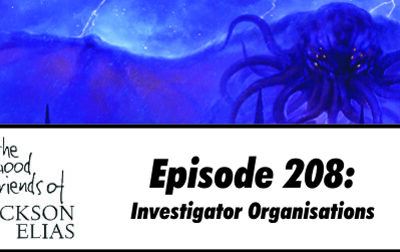 Investigator Organisations in Call of Cthulhu