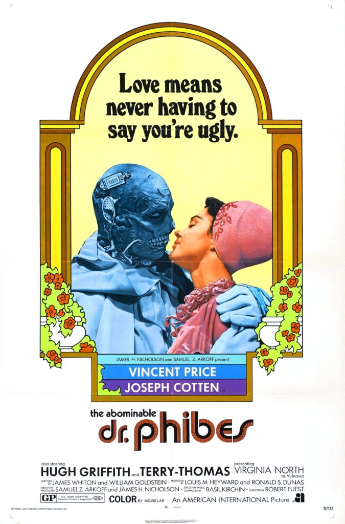 The Abominable Dr Phibes film poster
