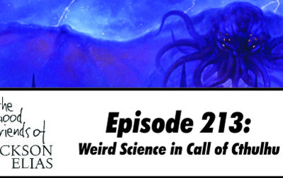 Weird Science in Call of Cthulhu
