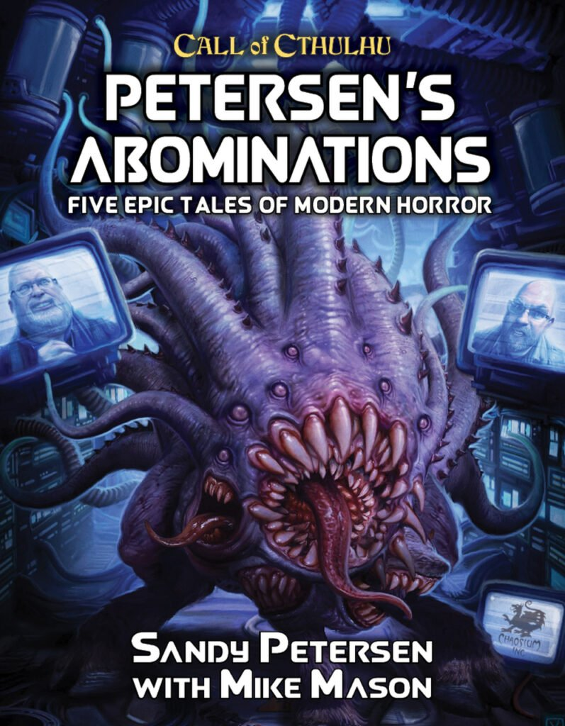 Petersen's Abominations, filled with weird science goodness