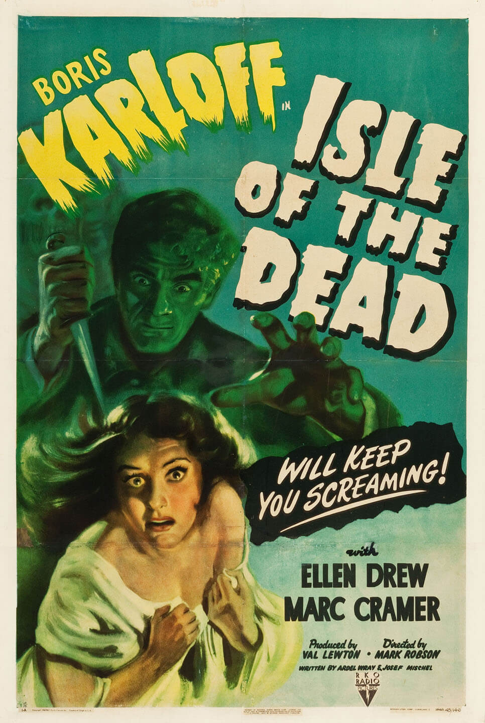 isle of the dead film poster