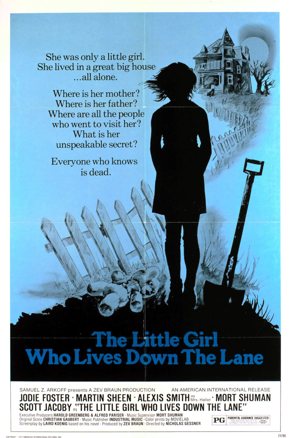 the little girl who lives down the lane movie poster